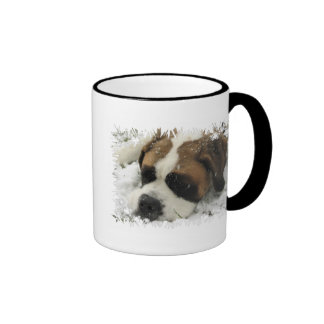 Tasse de café de chien de St Bernard