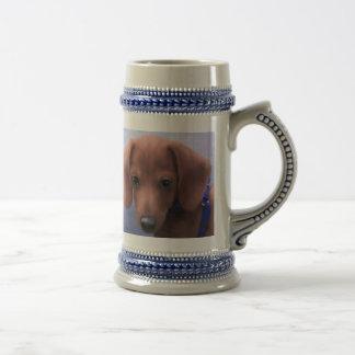 Tasse de café de chiot de surcharge de gentillesse