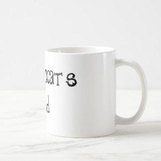 Tasse de café de citation du papa du chat de Crazi