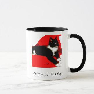 Tasse de café de collection de Meowu (jaspe)