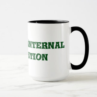 Tasse de café de combustion interne de question