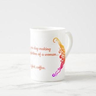 Tasse de café de concepteur de dames