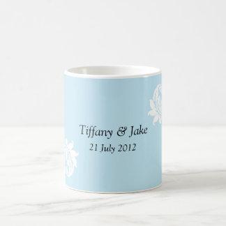 Tasse de café de conception de Tiffany