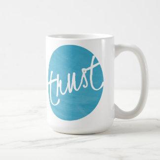 Tasse de café de confiance 15 onces