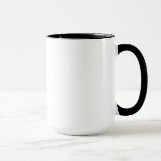 Tasse de café de coutume de la seconde de saut