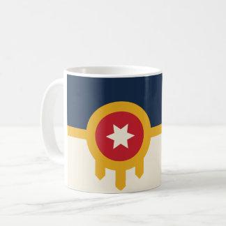 Tasse de café de drapeau de Tulsa