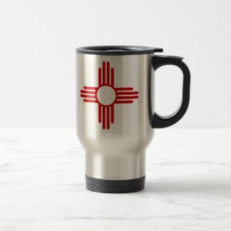 Tasse de café de drapeau du Nouveau Mexique