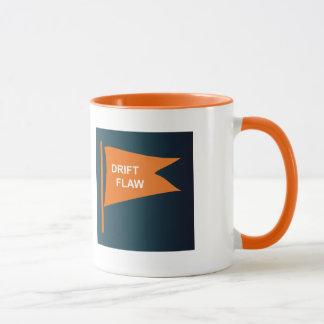 Tasse de café de faille de dérive