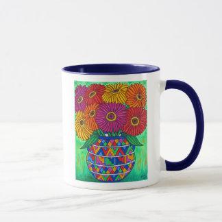Tasse de café de fiesta de Zinnia