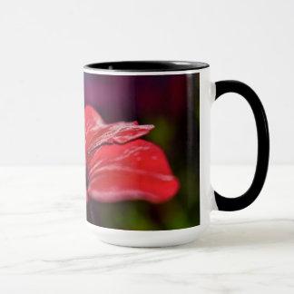 Tasse de café de fleur