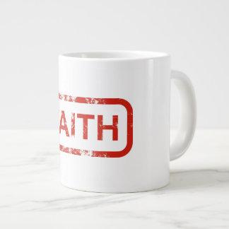 Tasse de café de foi