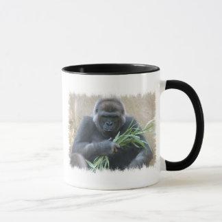 Tasse de café de gorille de Silverback