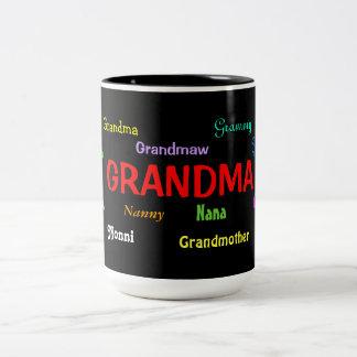 Tasse de café de grand-maman