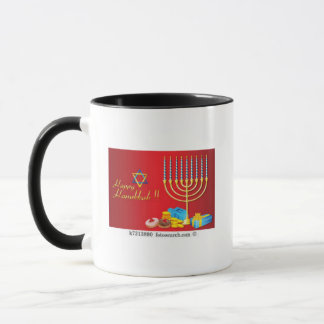 Tasse de café de Hanoukka pour célébrer le