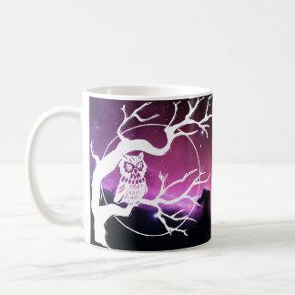 Tasse de café de hibou