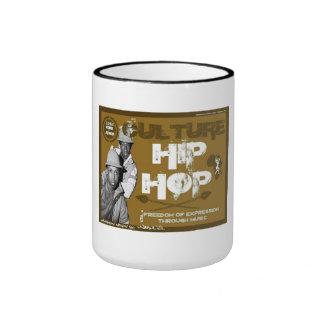 Tasse de café de hip hop de culture