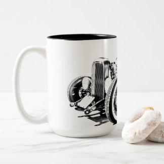 Tasse de café de hot rod
