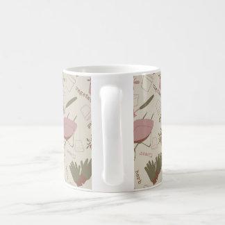 Tasse de café de jardinage d'amant
