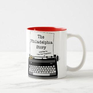 Tasse de café de l histoire de Philadelphie
