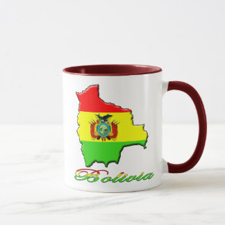 Tasse de café de la Bolivie