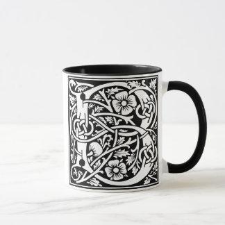 Tasse de café de la majuscule B