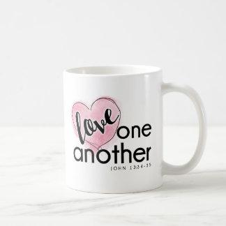 Tasse de café de l'amour de Dieu