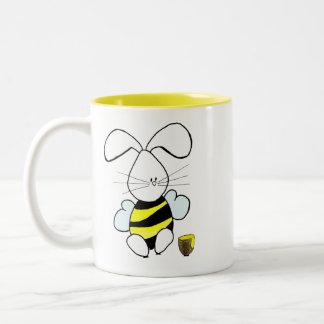 Tasse de café de lapin de miel