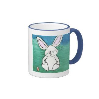 Tasse de café de lapin de Pâques