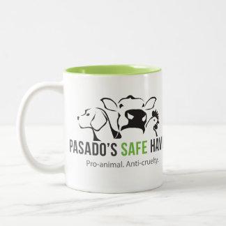 Tasse de café de l'asile sûr de Pasado