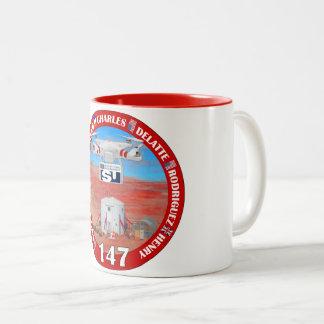 Tasse de café de l'équipage 147 de MDRS