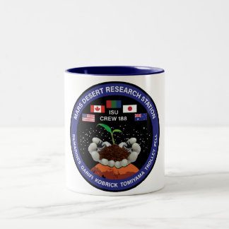 Tasse de café de l'équipage 188 de MDRS