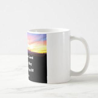 tasse de café de lever de soleil