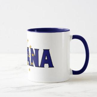 Tasse de café de l'Indiana