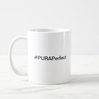 Tasse de café de logo de PURA