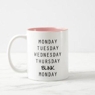Tasse de café de lueur, tasse de café de