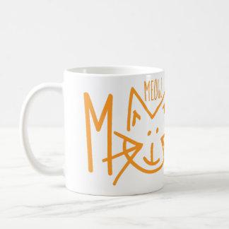 Tasse de café de lundi de Meow