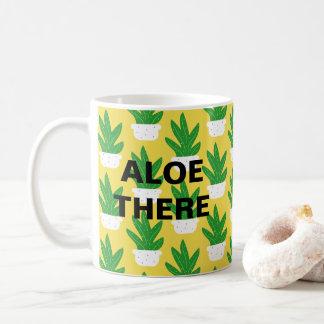 Tasse de café de l'usine | de Vera d'aloès