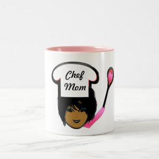 Tasse de café de maman de chef