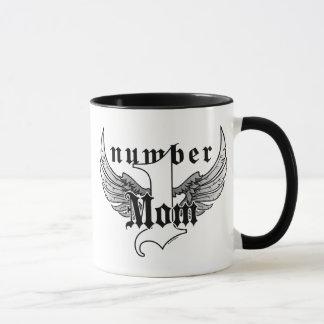 Tasse de café de maman du numéro un