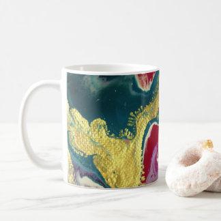 Tasse de café de marbre de remous