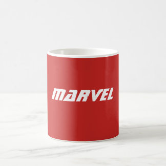 Tasse de café de merveille (rouge)