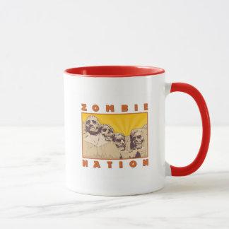 Tasse de café de nation de zombi--Conceptions de