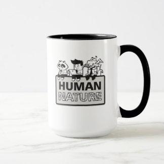 Tasse de café de nature humaine