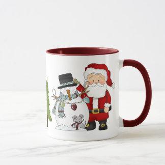 Tasse de café de Noël de Père Noël
