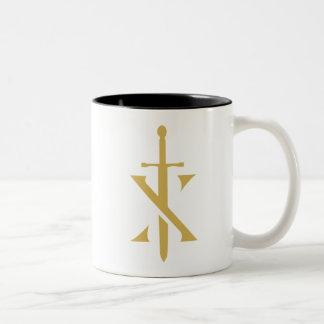 Tasse de café de Paladin de chevaliers