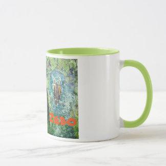 tasse de café de Perroquet-montre