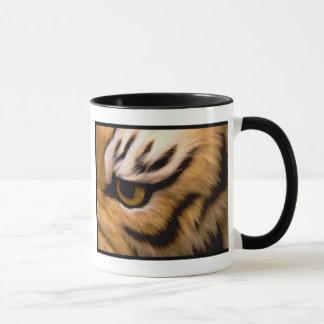 Tasse de café de photo de tigre