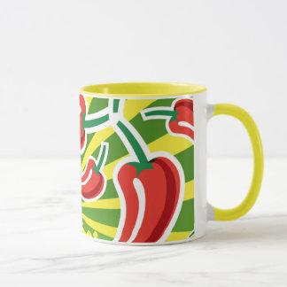Tasse de café de piment