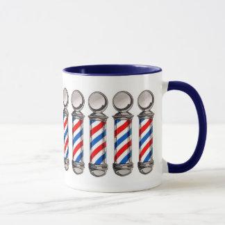 Tasse de café de Polonais de coiffeur