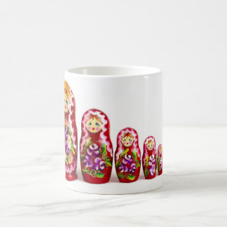 Tasse de café de poupées/icônes d'emboîtement de